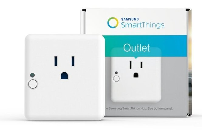 Samsung SmartThings Outlet (через SmartThings Hub)